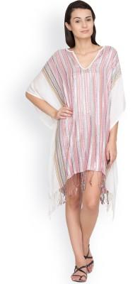Citypret Striped Viscose Women's Kaftan