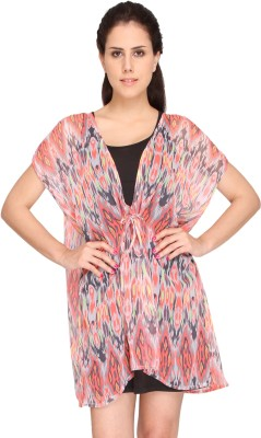 Bedazzle Self Design Polygoregette Womens Kaftan
