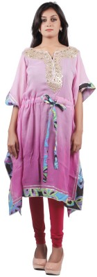 Taraz Embroidered Georgette Women's Kaftan