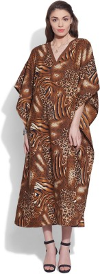Very Me Animal Print Cotton Women's Kaftan