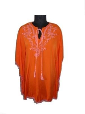 Eleganceranuka Embroidered AMERICAN CREPE Women's Kaftan
