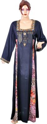 Saashiwear Printed Silk Womens Kaftan
