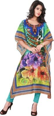 Trendif Graphic Print Poly Weightless Women's Kaftan