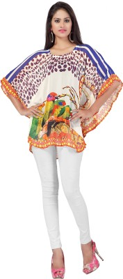Elijaah Embellished Georgette Women's Kaftan