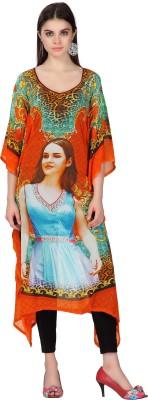 Admyrin Printed Georgette Women's Kaftan