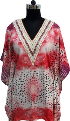 Otua Embroidered Polyester Women's Kaftan