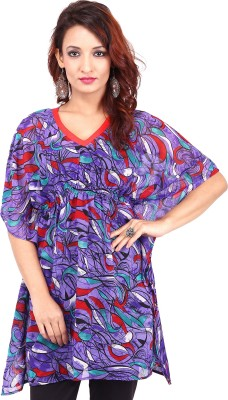 Urban Flairs Printed Georgette Women's Kaftan