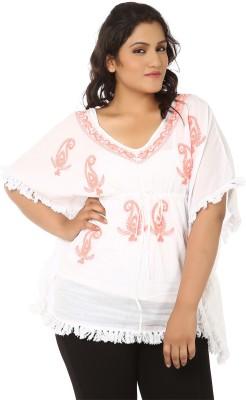 Lastinch Embroidered Cotton Women's Kaftan