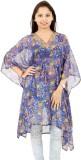 Fashlovers Printed chiffon Women's Kafta...