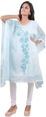 Taraz Embroidered Chiffon Women's Kaftan