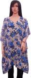 Hanlax Floral Print Chiffon Women's Kaft...