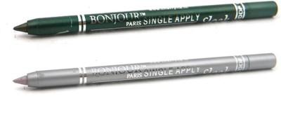Bonjour Paris Single Apply Leaf Green-Silver Kajal 49 2.4 g
