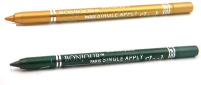 Bonjour Paris Single Apply 47201647 Golden-Green Kajal 2.4 g