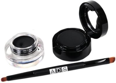 High Fly ADS 2 in 1 Jet-Black Waterproof Eye Liner Gel and Powder 4 g