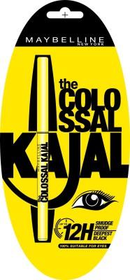 Maybelline Colossal Kajal 12h 0.35 g(Deepest black)