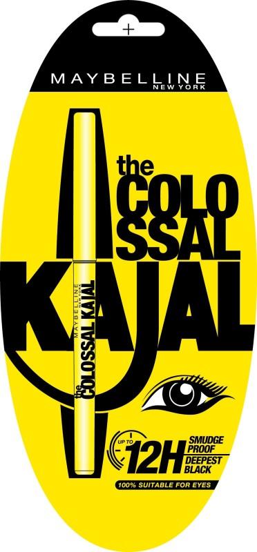Maybelline The Colossal Kajal 0.35 g(Deepest black)