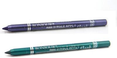 Bonjour Paris Single Apply 47201627 Cool Purple-Green Kajal 2.4 g