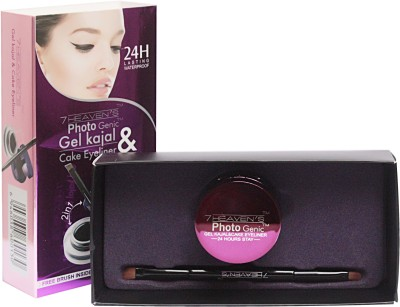 7 Heaven's Gel Kajal & Cake Eye Liner 7 g
