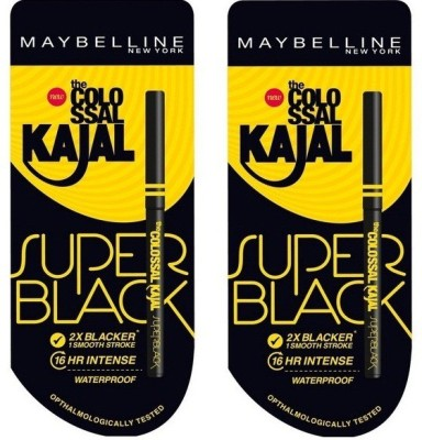 Maybelline New York Colossal Super Black kajal 0.70 g