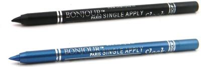 Bonjour Paris Single Apply 47201626 Black-Turquoise Kajal 2.4 g