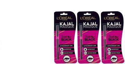L,Oreal Paris Paris kajal(Pack of 3) 1.05 g