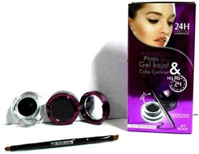 Glitters 7Heaven's Photo Genic Gel Kajal & Cake Eyeliner 24hrs 4 g
