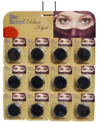 Blue Heaven Deluxe Kajal( Set of 12 Pc ) 2 g