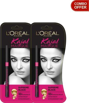 L,Oreal Paris Kajal Magique - Pack of 2 0.35 g