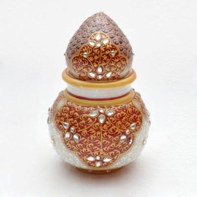 Gaura Art & Crafts Marble Kalash(White)