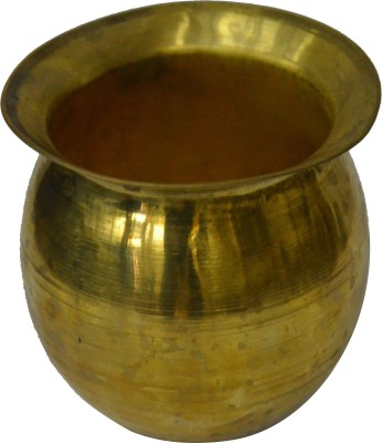 swadesibuyzzar Gold Plated Brass Lota Brass Kalash