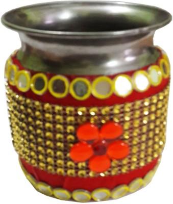 CraftEra Steel Kalash(Multicolor)