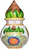 Anjalika Marble Kalash with Nariyal Marb...