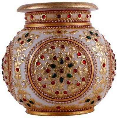 Khatushyam Marble Kalash(Gold)