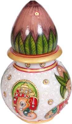 JaipurCrafts Marble Kalash