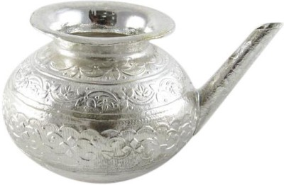 GoldGiftIdeas Silver Plated Kalash(Height: 3 inch, Silver)