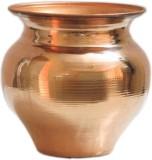 Artandcraftvilla Copper Kalash (Height: ...