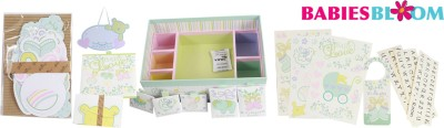 Babies Bloom Baby Love Room Decor Set Keepsake(Multi-Color)
