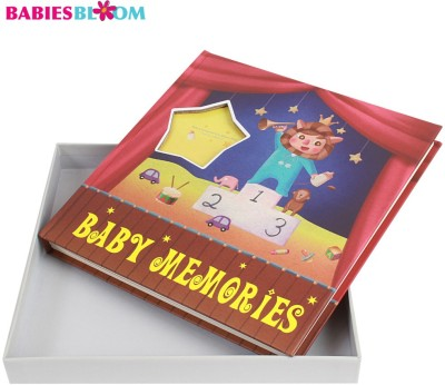 Babies Bloom Baby & Friends First Year Memory Book Keepsake(Multi-Color)