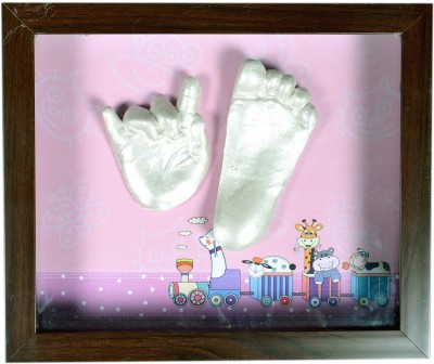 Gravelart Baby Impression Kit - DO-IT-YOURSELF Keepsake(Silver)