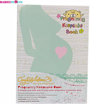 Babies Bloom Dear Bunny Pregnancy Book Keepsake(Multi-Color)