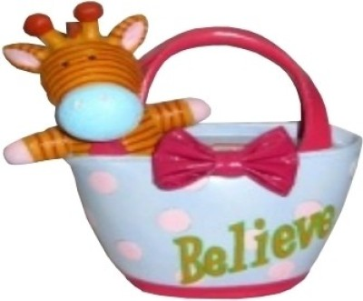 Archies Money Bank - Believe Keepsake(Light Blue, Pink)