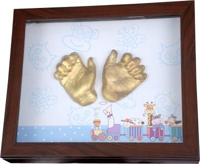 Gravelart Baby Impression Kit - DO-IT-YOURSELF Keepsake(Metallic Golden)