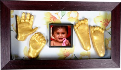 Gravelart Baby Impression Kit - DO-IT-YOURSELF Keepsake(Golden)