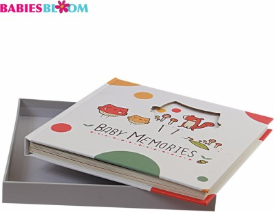 Babies Bloom Forest Baby 1st Year Memory Book Keepsake(Multi-Color)