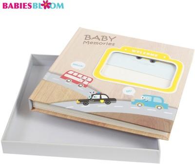 Babies Bloom Baby Sunshine Vehicles 1St Year Memory Book Keepsake(Multi-Color)