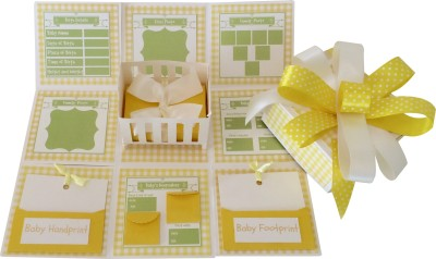 Crack of Dawn Crafts Baby Explosion Box Keepsake