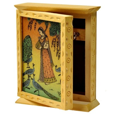 Chave KB-BT-GM Wooden Key Box