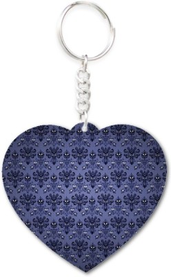 Lolprint 25 Pattern Heart Key Chain