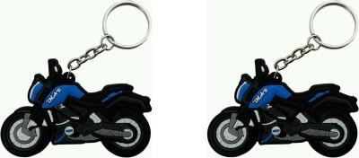 SiNgH Navy Blue KTM Duke Key Chain-5 Key Chain