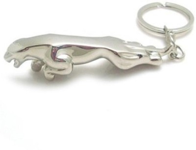 True Traders True Traders silver metal jaguar keychain Key Chain